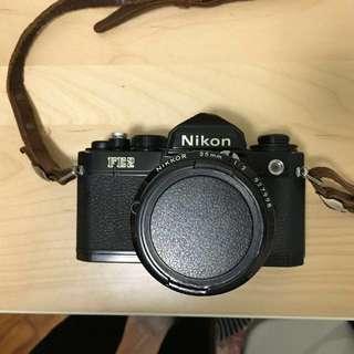 Nikon FE2 with 35mm f/2