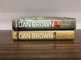 Dan Brown The Lost Symbol Inferno Novels