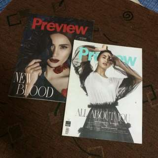 All : Preview Magazines