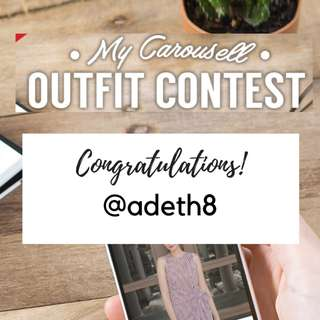 Winner: My Carousell Outfit Contest