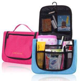 Toiletry kit makeup pouch travel
