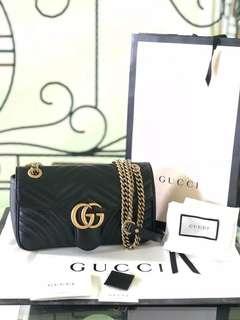 Gucci Marmont black 26cm
