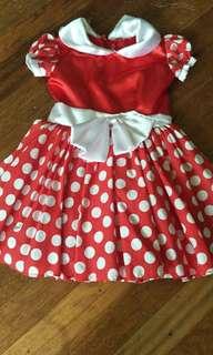 Mini mouse costume 68 cm lenght 36 cm width
