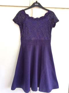 Purple Lacey Dress