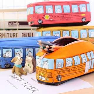 🚚 Children's day gift ideas birthday celebration gift flavours pencil case school bus