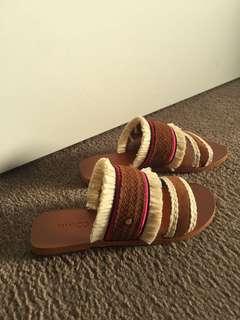 Mimco sandals slides