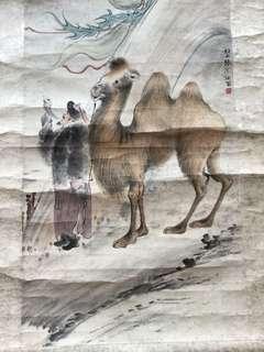 清朝画家张问陶(船山)Chinese painting