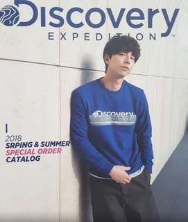 孔劉 代言Discovery expedition 18Summer catalog 兩本