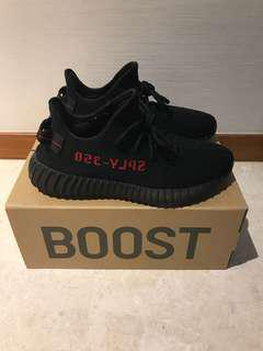 Yeezy Boost 350 V2 Bred US8