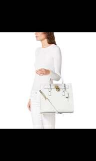 Authentic Michael Kors Hamilton Saffiano Leather Bag