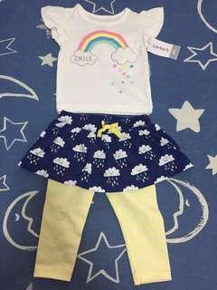 Carter's baby girl set
