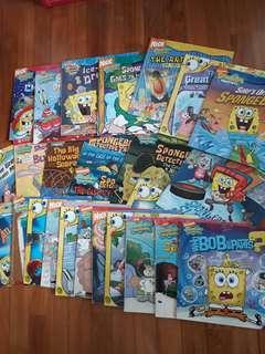 Preloved Spongebob Squarepants Story Books Set