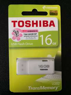 全新 Toshiba 16GB USB 手指