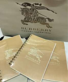 Burberry Note book