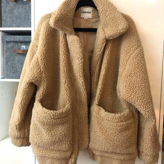 I.AM.GIA Camel Pixie Coat