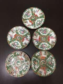 "Cantonware 6"" Dessert Plates"