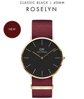 daniel wellington roselyn BM