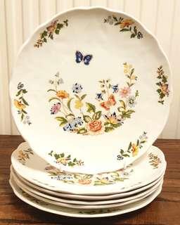 branded Vintage Dinner plates