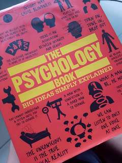 [WTS 50% OFF] The Psychology Book Hardcover