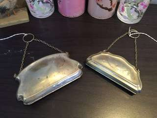 Antique Victorian silver purse from UK