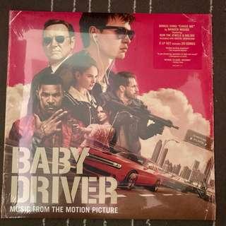Baby Driver soundtrack vinyl