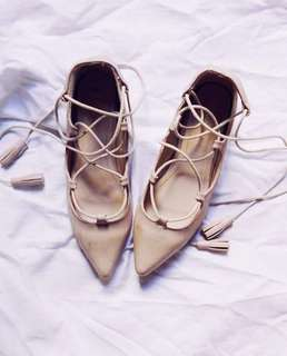 Zalora Lace up Shoes Size 6 | Pre-loved | Used twice