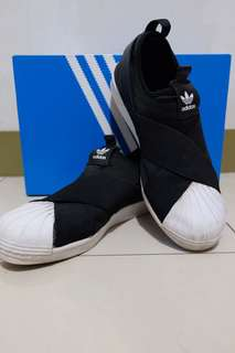 Adidas superstar slip on original (steal deal!!)