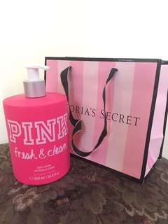 Victoria's Secret PINK Fresh and Clean Body Lotion