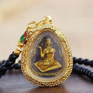 招財 招人緣彿牌 Wat Bang Phra挽拍佛寺開光 招財女神