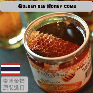 泰國清邁金蜂牌野生蜂巢蜜(500g)
