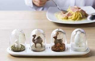 Qualy Animal salt and pepper shakers set