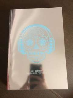 BigBang 2011 bigshow making DVD & photo book