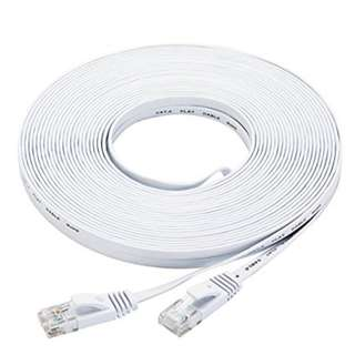 CAT 6 CHEAPEST HIGH QUALITY LAN Cable Flat 1000Mbps 15 metres *MAIL Available* ✔️
