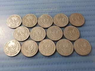 Thailand 1 Baht Garuda Coin ( Price Per Piece )