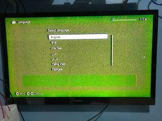 44' sony tv