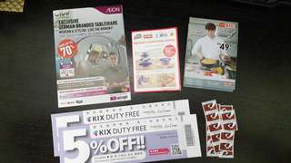Aeon Big, Aeon, Giant Stickers and coupons