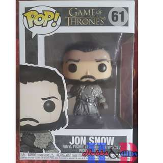 Funko Pop Game of thrones: Jon Snow Beyond the wall