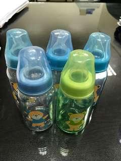 Feeding bottles (5pcs) 125ml/4oz.