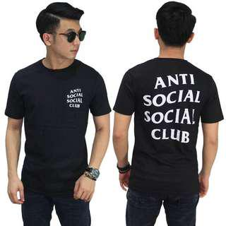 Kaos Anti Social Social Club White