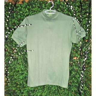 Light Green Formal Top