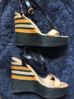 Charles and Keith Espadrille Wedge
