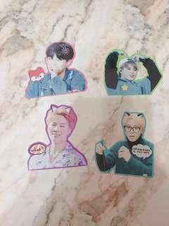 BTS 防彈少年團 朴智旻貼紙