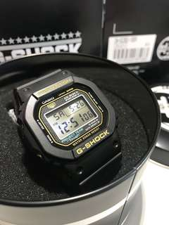 G-Shock 35th DW-5035D 金色扭㡳