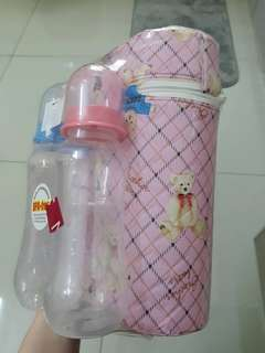 Pureen Baby Bottle (Free Bag & Dummies)