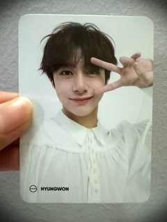 [WTS] MONSTA X THE CONNECT:DEJAVU OFFICIAL PHOTOCARD HYUNGWON
