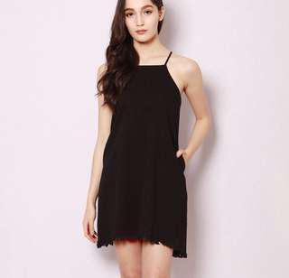 BNWT SSD Faelyn Shoelace Dress In Black