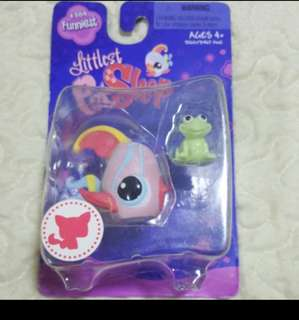 LPS - Littlest Pet Shop Angel Fish And Frog toy