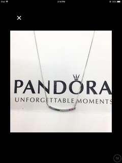 Pandora necklace complete