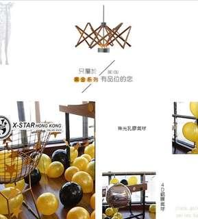 1633808 黑金色 主題 生日 派對 佈置 4D鋁膜氣球 套餐 Birthday party balloon