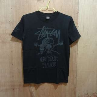 STUSSY OUTDOOR FLAVOR TEE - SMALL
